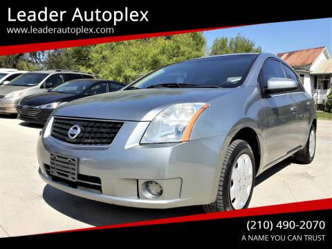 2008 Nissan Sentra for sale at Leader Autoplex in San Antonio TX