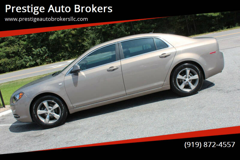 2008 Chevrolet Malibu for sale at Prestige Auto Brokers in Raleigh NC