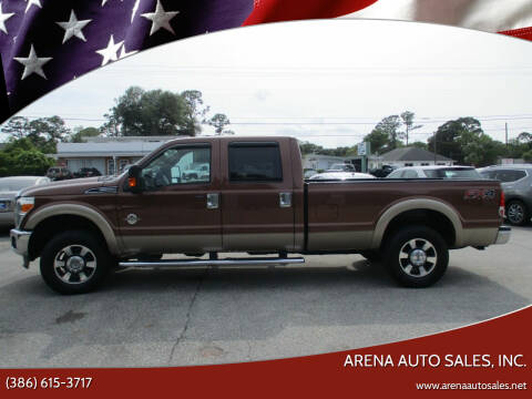 2012 Ford F-250 Super Duty for sale at ARENA AUTO SALES,  INC. in Holly Hill FL