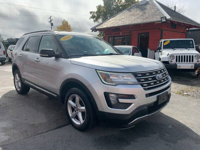 2016 Ford Explorer for sale at Mass Auto Exchange in Framingham MA