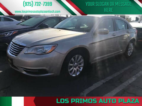 2013 Chrysler 200 for sale at Los Primos Auto Plaza in Antioch CA