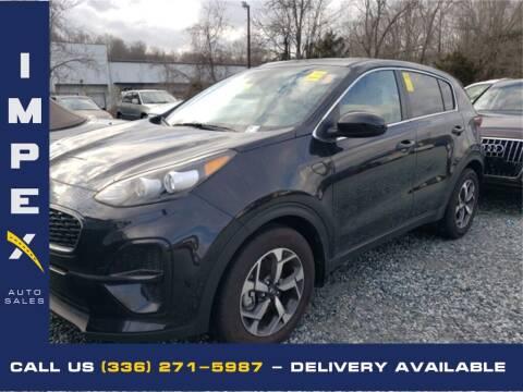 2020 Kia Sportage for sale at Impex Auto Sales in Greensboro NC
