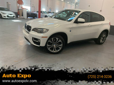 2014 BMW X6 for sale at Auto Expo in Las Vegas NV