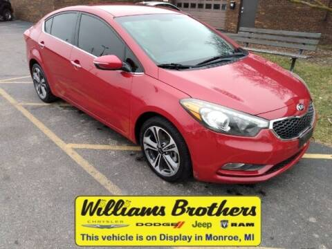 2014 Kia Forte for sale at Williams Brothers - Pre-Owned Monroe in Monroe MI