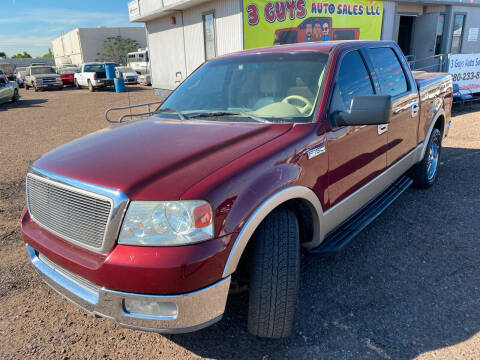 2004 Ford F-150 for sale at 3 Guys Auto Sales LLC in Phoenix AZ