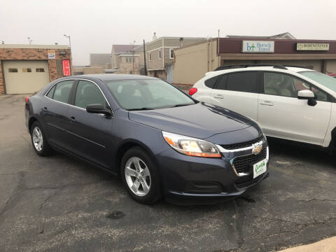 2014 Chevrolet Malibu for sale at Carney Auto Sales in Austin MN