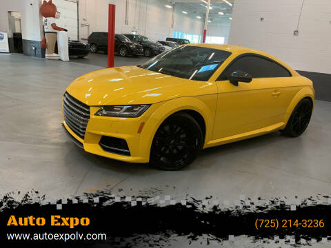 2016 Audi TTS for sale at Auto Expo in Las Vegas NV