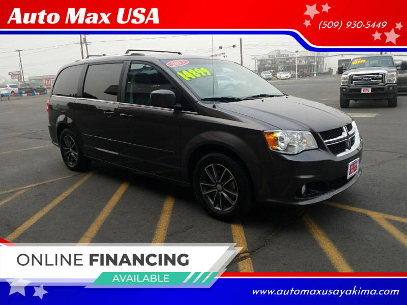2017 Dodge Grand Caravan for sale at Auto Max USA in Yakima WA