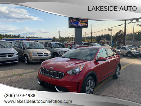 2019 Kia Niro for sale at Lakeside Auto in Lynnwood WA