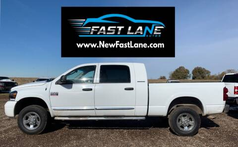2007 Dodge Ram Pickup 2500 for sale at FAST LANE AUTOS in Spearfish SD
