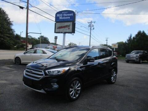 2017 Ford Escape for sale at Mill Street Motors in Worcester MA