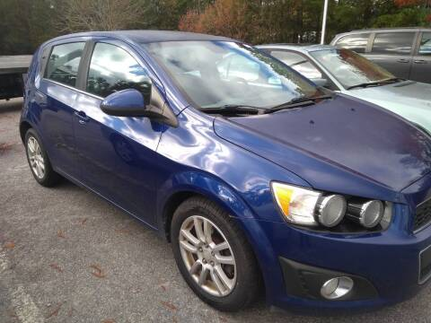 2012 Chevrolet Sonic for sale at Sparks Auto Sales Etc in Alexis NC