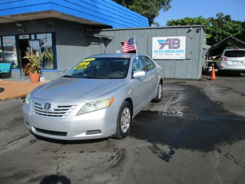 2009 Toyota Camry for sale at AUTO BROKERS OF ORLANDO in Orlando FL