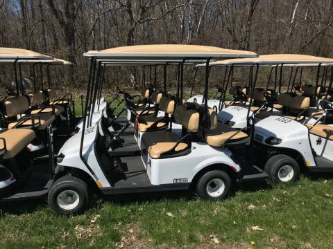 2018 E-Z-GO TXT 2+2 for sale at Jim's Golf Cars & Utility Vehicles in Reedsville WI