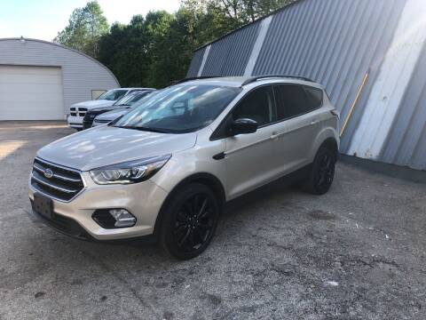 2017 Ford Escape for sale at THATCHER AUTO SALES in Export PA