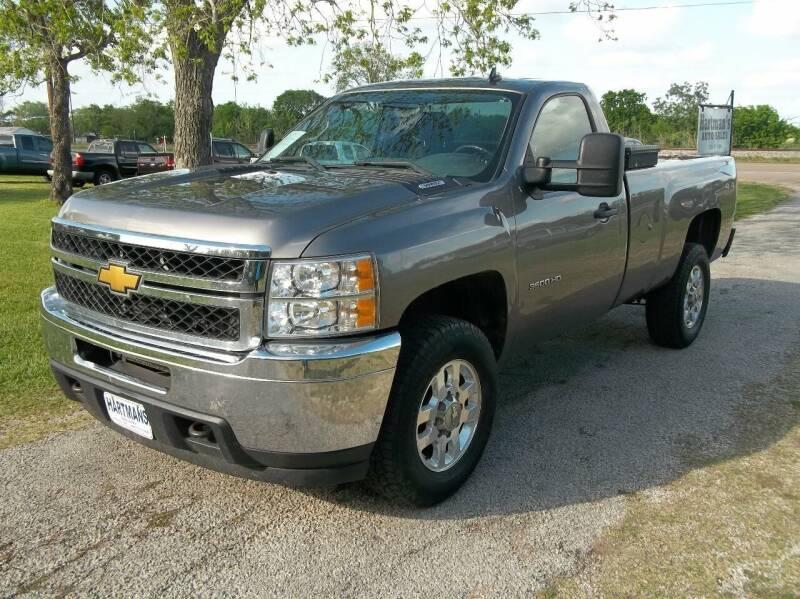 2012 Chevrolet Silverado 3500HD for sale at Hartman's Auto Sales in Victoria TX