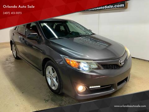 2013 Toyota Camry for sale at Orlando Auto Sale in Orlando FL