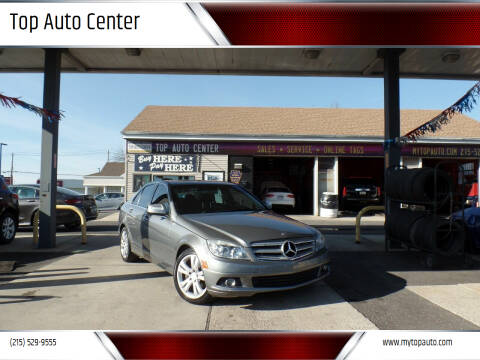 2009 Mercedes-Benz C-Class for sale at Top Auto Center in Quakertown PA