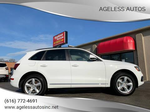 2017 Audi Q5 for sale at Ageless Autos in Zeeland MI