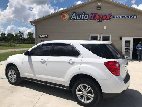 2013 Chevrolet Equinox for sale at The Auto Depot in Mount Morris MI