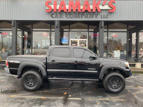 2015 Toyota Tacoma for sale at Siamak's Car Company llc in Salem OR