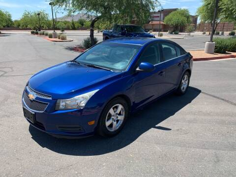 2012 Chevrolet Cruze for sale at San Tan Motors in Queen Creek AZ
