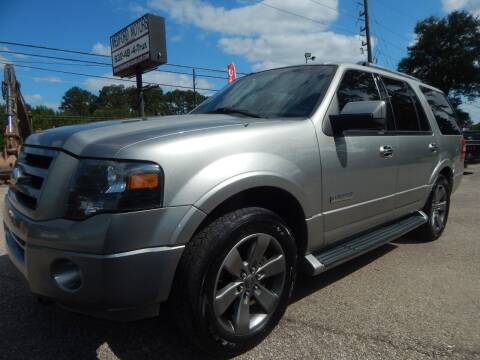 2008 Ford Expedition for sale at Medford Motors Inc. in Magnolia TX