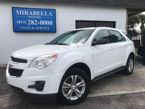 2013 Chevrolet Equinox for sale at Mirabella Motors in Tampa FL