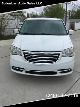 2014 Chrysler Town and Country for sale at Suburban Auto Sales LLC in Madison Heights MI