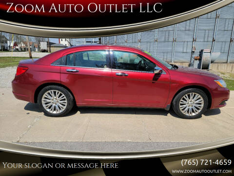 2011 Chrysler 200 for sale at Zoom Auto Outlet LLC in Thorntown IN