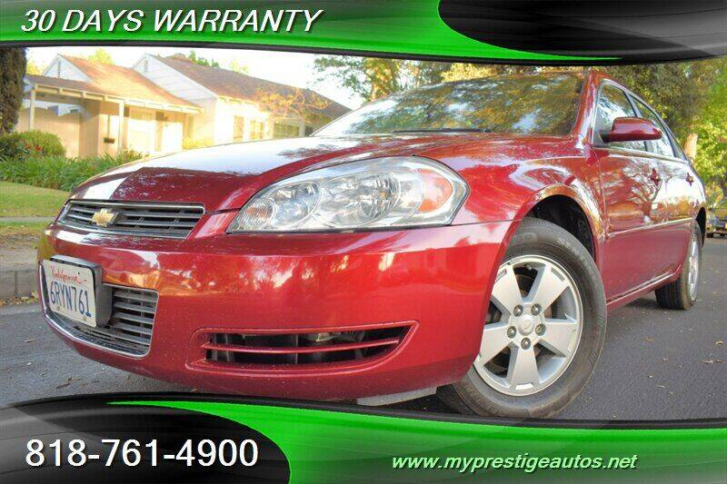 2008 Chevrolet Impala for sale at Prestige Auto Sports Inc in North Hollywood CA