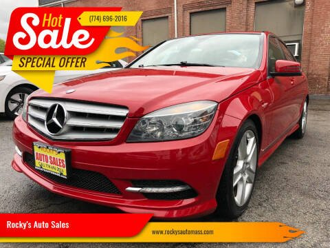 2011 Mercedes-Benz C-Class for sale at Rocky's Auto Sales in Worcester MA