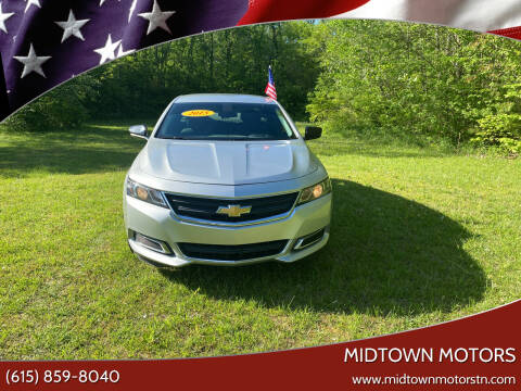 2015 Chevrolet Impala for sale at Midtown Motors in Greenbrier TN