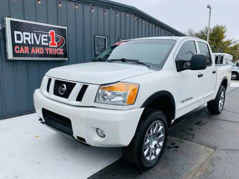 2012 Nissan Titan for sale at Drive 1 Car & Truck in Springfield OH