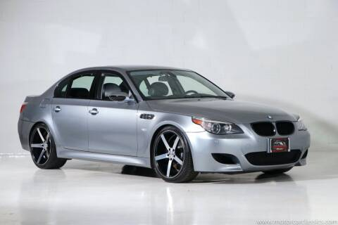 2006 BMW M5 for sale at Motorcar Classics in Farmingdale NY