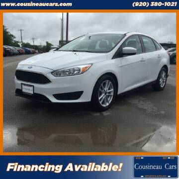 2018 Ford Focus for sale at CousineauCars.com in Appleton WI