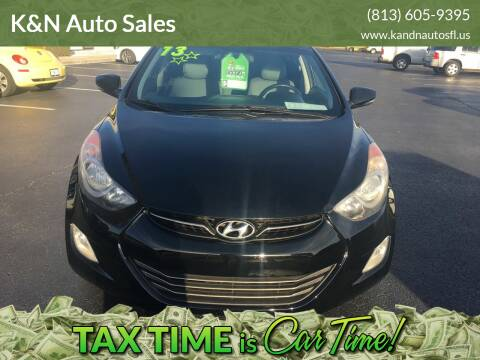 2013 Hyundai Elantra for sale at K&N Auto Sales in Tampa FL