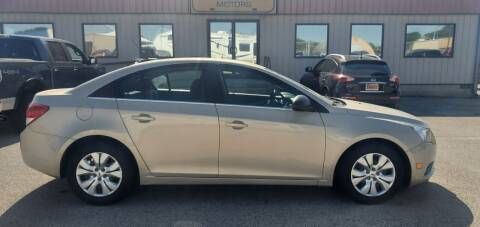2012 Chevrolet Cruze for sale at Parkway Motors in Springfield IL