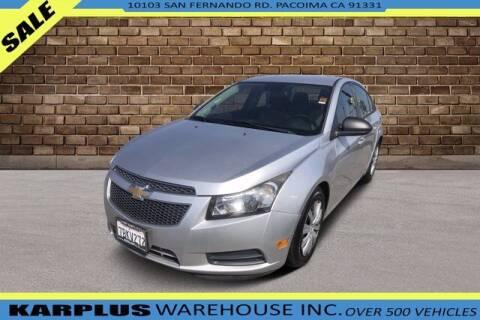 2013 Chevrolet Cruze for sale at Karplus Warehouse in Pacoima CA