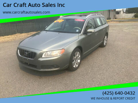 2008 Volvo V70 for sale at Car Craft Auto Sales Inc in Lynnwood WA