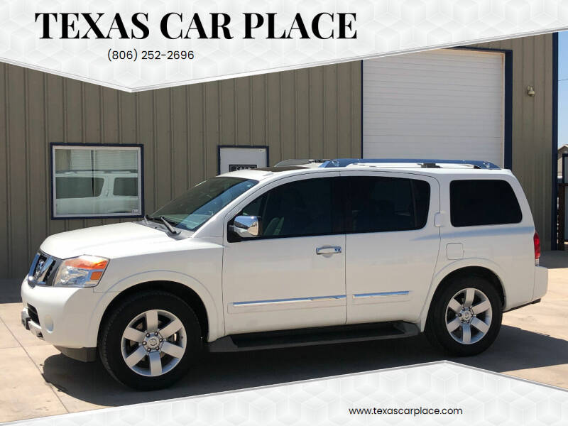 2010 Nissan Armada for sale at TEXAS CAR PLACE in Lubbock TX