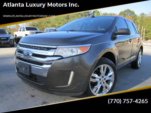 2011 Ford Edge for sale at Atlanta Luxury Motors Inc. in Buford GA