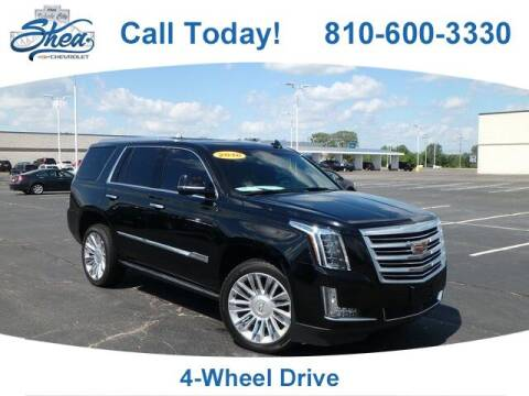 2016 Cadillac Escalade for sale at Erick's Used Car Factory in Flint MI
