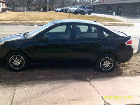 2010 Ford Focus for sale at D & D Auto Sales in Topeka KS