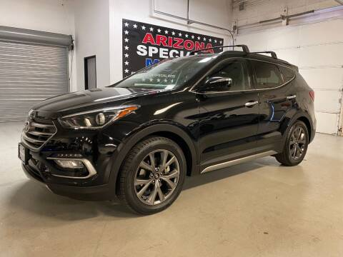 2017 Hyundai Santa Fe Sport for sale at Arizona Specialty Motors in Tempe AZ