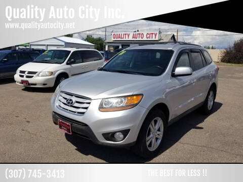 2011 Hyundai Santa Fe for sale at Quality Auto City Inc. in Laramie WY