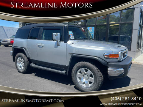 2008 Toyota FJ Cruiser for sale at Streamline Motors in Billings MT