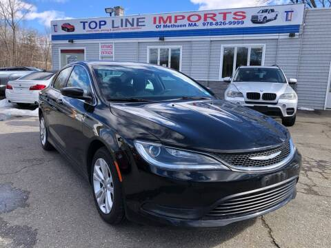 2016 Chrysler 200 for sale at Top Line Import of Methuen in Methuen MA