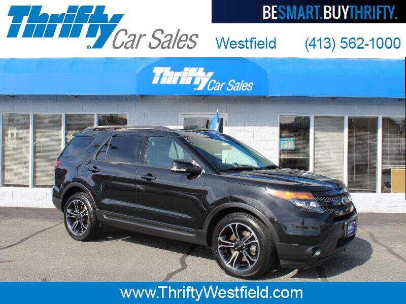 2015 Ford Explorer for sale at Thrifty Car Sales Westfield in Westfield MA