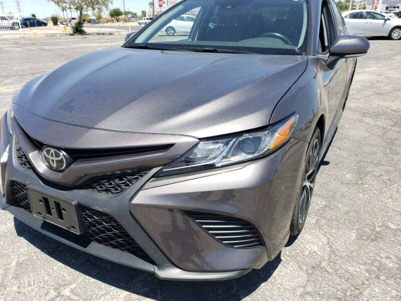 2019 Toyota Camry for sale at ELITE MOTORS in Victorville CA